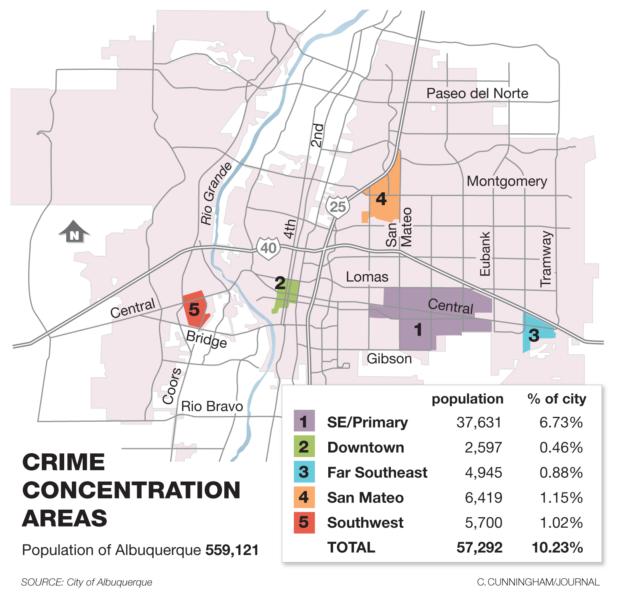 Albuquerque Crime Map