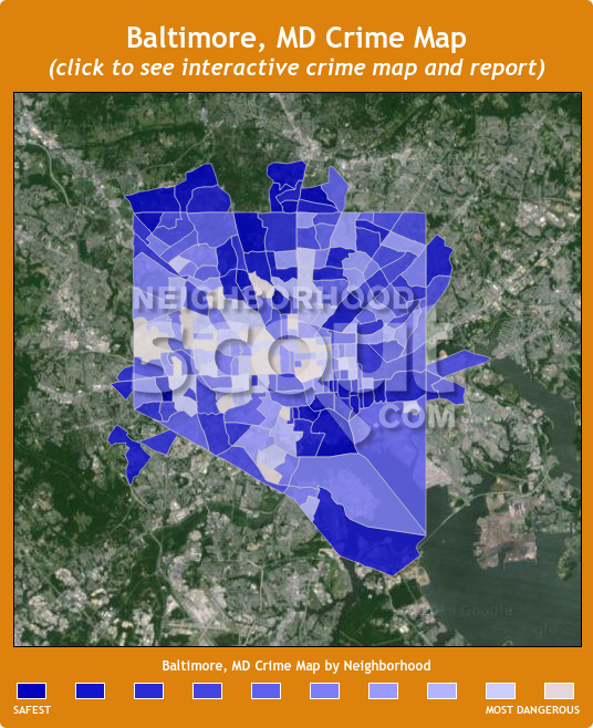 Baltimore Crime Map