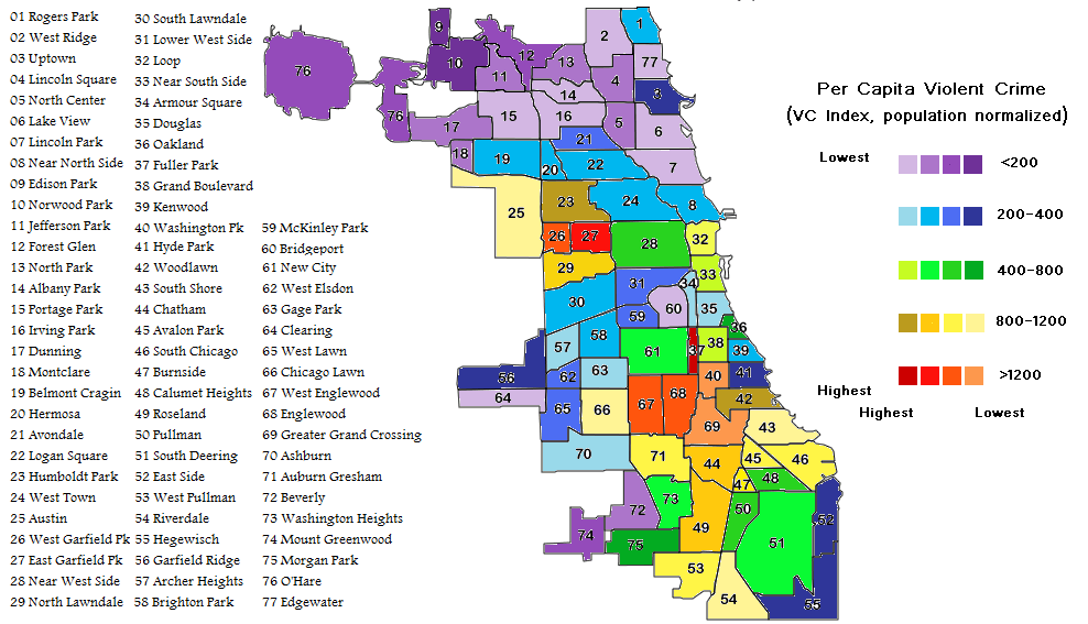 Chicago Crime Map