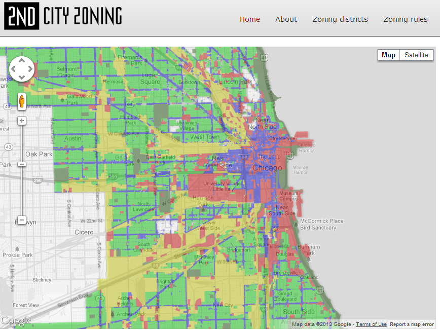 Chicago Zoning Map