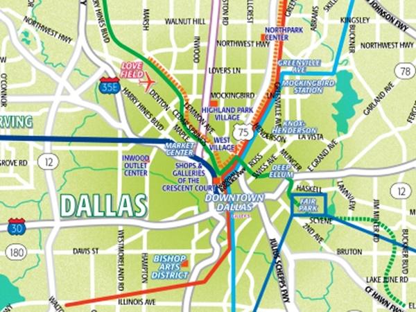 Dallas Maps
