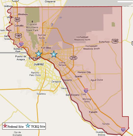 El Paso Maps