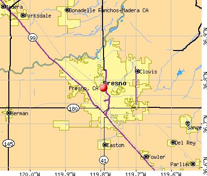 Fresno Maps