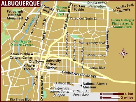 maps albuquerque