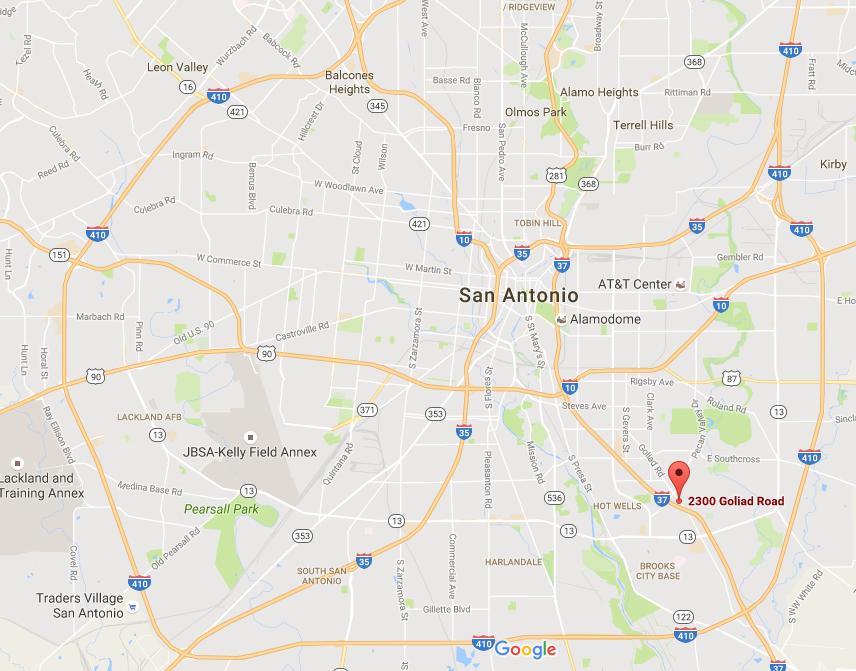 Google Maps San Antonio