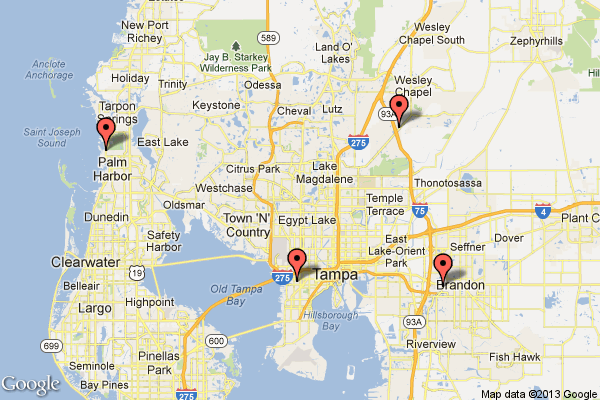 Google Maps Tampa