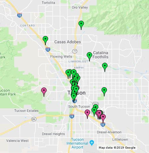 Google Maps Tucson