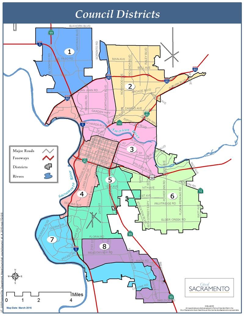 Map Sacramento