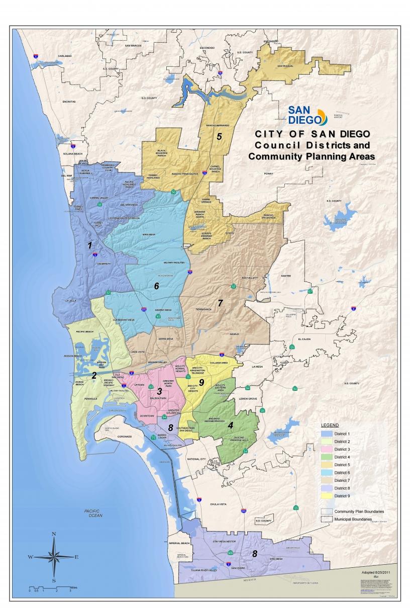 Maps San Diego