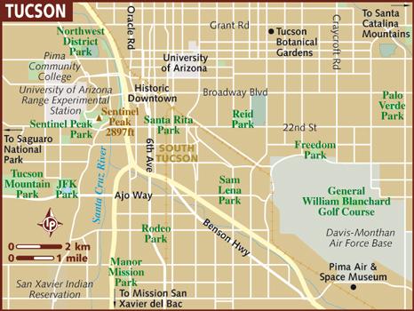 Maps Tucson