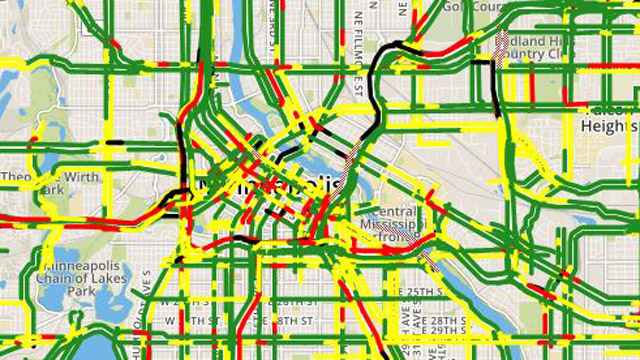 Minneapolis Traffic Map