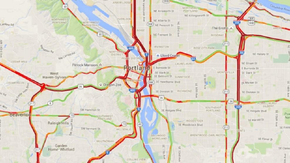 Portland Traffic Map