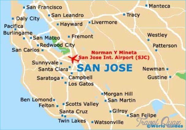 San Jose Ca Map