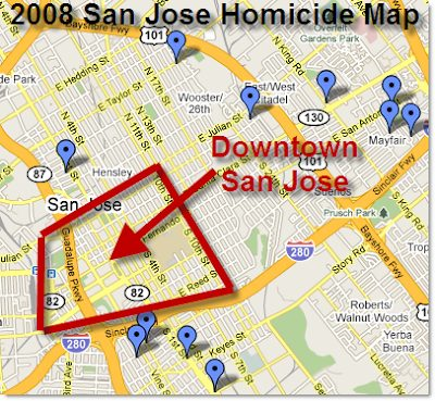 San Jose Crime Map