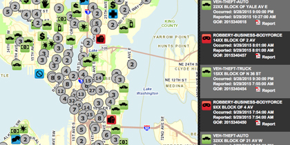 Seattle Crime Map