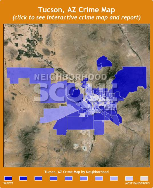 Tucson Crime Map