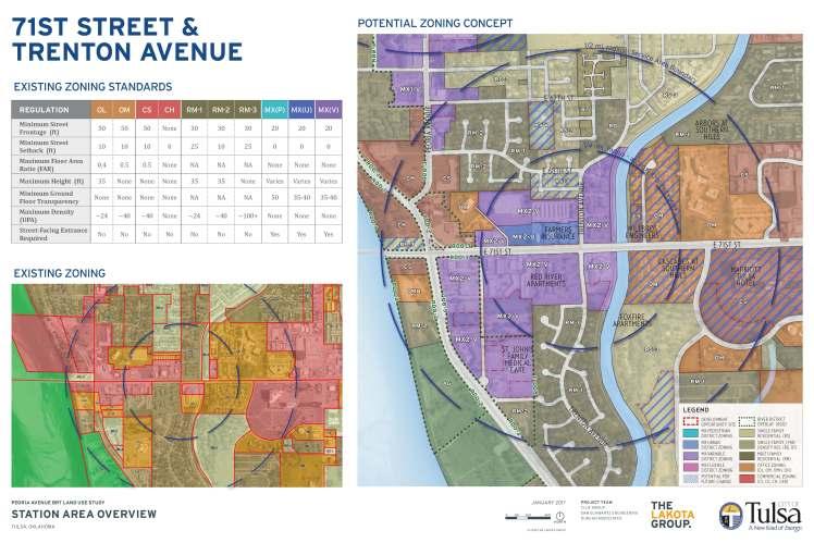 Tulsa Zoning Map